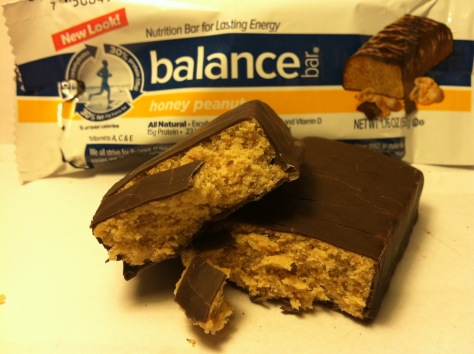 Balance Bar Honey Peanut Close