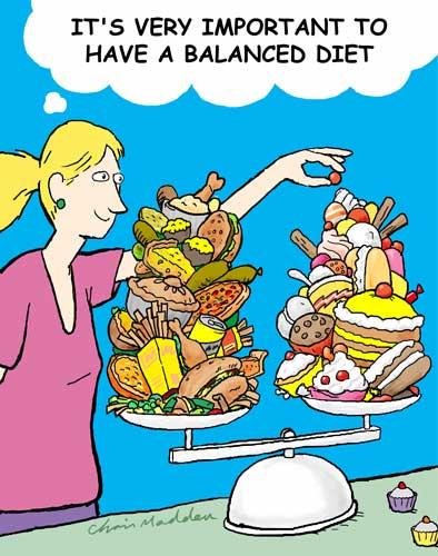 Balanced Diet Pre-Race