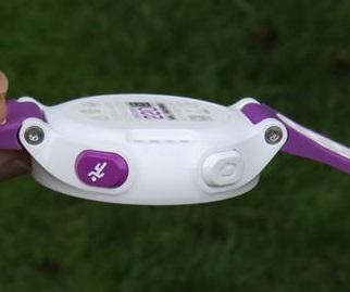 Garmin ForeRunner 220 Purple - Buttons