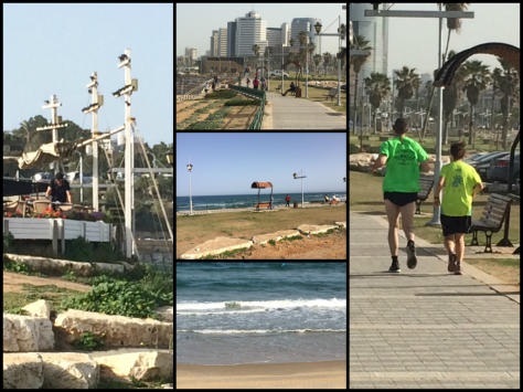 Tel Aviv Boarwalk