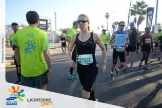 Tel Aviv Half Marathon Warm Up